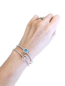 NEW Authentic SWAROVSKI Many Colors Sparkling Dance Crystal Bangle Bracelet