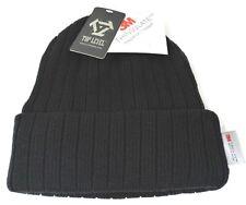 Cuff Beanie Skull Cap Winter Hat Fleece Lining Adult OSFM NWT
