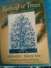 Silvery Tree Beaded Ornament Kit Mill Hill 2010 Festival of Trees