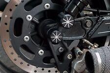Axle Nut Cover (Contrast) Kawasaki Mean Streak VN1500 VN1600 VN 1500 VN 1600