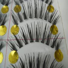 10 pairs Fashion clear band False eyelashes Thick eye lashes Daily eyelashes