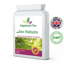 SAW PALMETTO 2500mg x 90 Capsules Prostate, Urinary Tract, Sexual Health Support