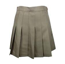 American Apparel Womens Gabardine Tennis Skirt sz S in Khaki NEW $48