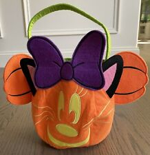 Disney Store Minnie Mouse Halloween - Trick Or Treat Bag.