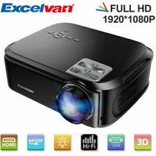 LED Full HD 1080P Proiettore 3D Videoproiettore HDMI AV Per l'Home Entertainment