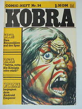 1x Comic - Kobra Nr. 34 - Z. 2/2-