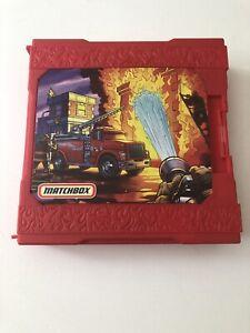 Matchbox Pop-Up Folding Travel Playset Fire Fighter Truck 2006 Mattel Set