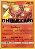 Volcanion Unbroken Bonds Pokémon TCG Online PTCGO ONLINE CARD SENT FAST!