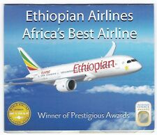 Ethiopia: 2014:  Ethiopian Airlines Booklet containing 4 sets, MNH