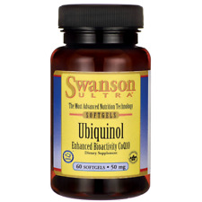 Swanson Ubiquinol 50 mg 60 Sgels