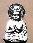 "Street Art Buddha CANVAS PRINT poster 24""X18"""