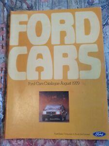 1979 FORD FALCON XD FAIRMONT FAIRLANE CORTINA ESCORT SUNDOWNER F100 GL GHIA GS