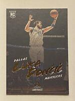 Luka Doncic 2018-19 Panini Chronicles Luminance #166 RC Dallas Mavericks