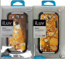 NIP 2  iLuv Klimt for Samsung Galaxy S3 Case Cover duo PRICE FOR BOTH *FREE SHIP