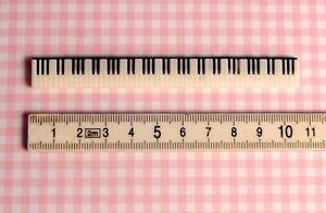 Miniatur Klaviertasten, 1:12,Puppenstube, Puppenhaus, NEU!