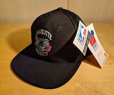 Vintage NBA Charlotte Hornets YOUTH Adjustable - Sports Specialties 90s Hat  NWT