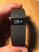 Fitbit Charge HR Wireless Heart Rate + Activity Wristband - **Small** Black