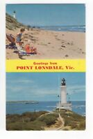 Greetings From Point Lonsdale Victoria Australia 1970 Postcard 935b