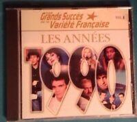 CD LES GRANDS SUCCÈS DE LA VARIÉTÉ FRANÇAISE LES ANNÉES 1990 Ref 0825