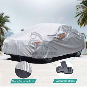 L 6 Layer Heavy Duty Car Cover Waterproof Dust UV Resistant Outdoor Protectors