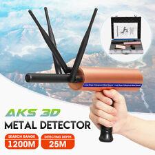 AKS 3D Metal Detector Detective 1200M Long Range Gold Treasure Digger Scanner