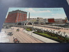 Union Station Pittsburgh Pennsylvania USA   VINTAGE POSTCARD