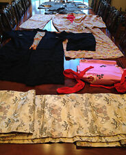 Three Vintage Japanese Kimonos (Robes) and Accessory.