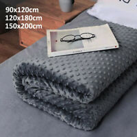Weighted Blanket Sensory Anxiety Sleep Therapy for Kids / Adults Better Sleeping