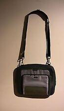 "TARGUS Screen 16"" Laptop Notebook Case Shoulder Messenger Bag Grey Polyester"