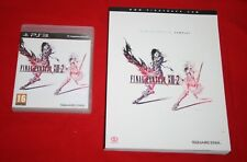 Guide officiel collector FINAL FANTASY XIII-2 + JEU PS3 COMPLET TBE