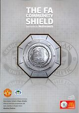 MAN UTD v WIGAN 2013 COMMUNITY SHIELD MINT PROGRAMME MANCHESTER