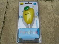 NINTENDO WII funchuck Nunchuck Wired Controller en amarillo nuevo Nunchuk Agarre