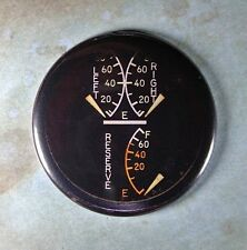 "Ww2 Airplane Gauge Fridge Magnet 2 1/4"" F6 Hellcat Fuel Gauge Grumman Us Navy"