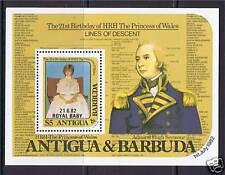 Antigua  1982 Birth of Prince William SG MS760 MNH