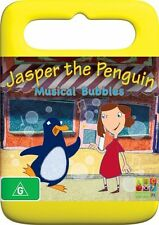 Jasper The Penguin Musical Bubbles - DVD ss Region 4 Good Condition