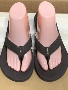 Womens Reef Brown Sandals Sz 9