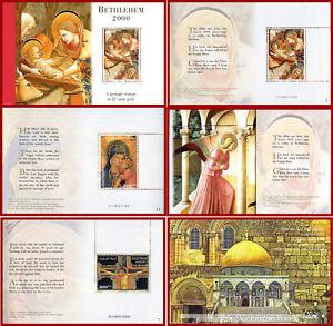 Palestine 2000 Bimillenary anniversary of Jesus Christ, ART luxury booklet **MNH