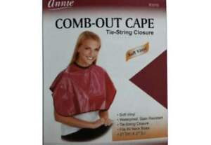 """ANNIE 3918 COMB OUT RED CAPE 3913 (27""""W*54""""L)  WITH FREE SHIPPING!"""