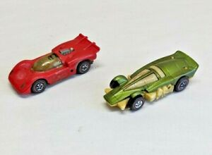 Vintage Hot Wheels Sizzlers Cars Lot of 2 - For Parts / Repair