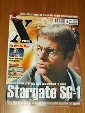XPOSE #66 BRITISH MAGAZINE VISUAL IMAGINATION APRIL 2002 STARGATE SG-1 JEREMIAH