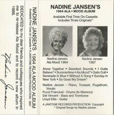 "Excellent Arizona Jazz Cassette ""Nadine Jansen's 1968 Ala Mood Album"" 10 tracks"