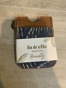 New Lu & Elle Card & Identification Keychain Holder Exclusive for Beachly