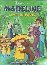 DISNEY MADELINE: LOST IN PARIS PRESS KIT BOOK MARK LAUREN BACALL PLUMMER JASON
