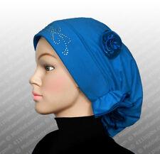Vogue Turban #5 Royal blue Lady Stretchy Turban Head Wrap Band Chemo Bandana Hat