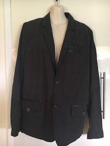 Rock and Republic Slim Fit Blazer Two Button Coat/Blazer Size M