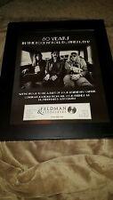 Rush R30 Feldman And Associates Rare Original Promo Poster Ad Framed!
