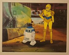 Star Wars Droids Genuine Animation Production Cel Lucasfilm Seal C-3P0 R2-D2