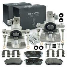 Bremsscheiben 234mm hinten KIA Picanto SA 2x Bremssattel 34mm Bremsbeläge