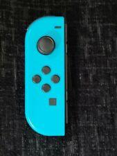 Genuine Nintendo Switch Joy Con Left (Minus) Official Neon Blue