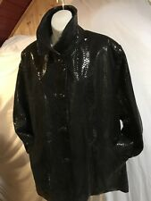 Vintage Dero By Rocco D'Amelio Women Jacket size L made in USA